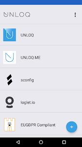 screenshot of UNLOQ version 6.16.6