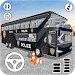 US Police Bus Parking Simulator