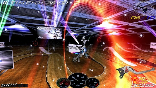 screenshot of Ultimate MotoCross 3 version 6.5