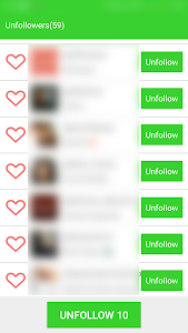screenshot of Unfollow Analyzer - Unfollowers & Followers version 1.4.0