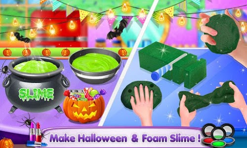 screenshot of Unicorn Slime Maker and Simulator version 4.6