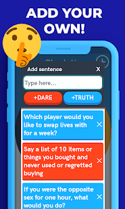 screenshot of Truth or Dare 2 - Spin the Bottle version 12.5