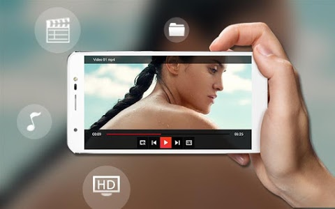 screenshot of Video Player version 1.1
