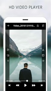 screenshot of Video Player version 1.0.5