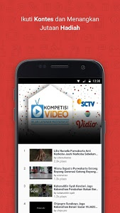 screenshot of Vidio - Nonton TV & Video version 2.2.10