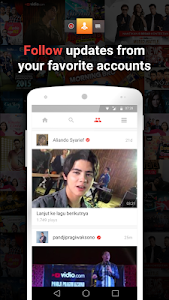 screenshot of Vidio - Nonton TV & Video version 2.1.15