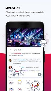 screenshot of Vidio - Watch Video, TV & Live Streaming version Varies with device
