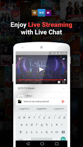 screenshot of Vidio - Nonton TV & Video version 2.1.5