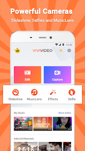 screenshot of VivaVideo - Video Editor & Photo Movie version 7.14.0