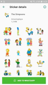 screenshot of WAStickerApps - Stickers for Whatsapp version 1.0.21