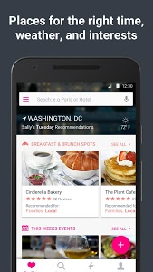 screenshot of Washington D.C. City Guide - Trip by Skyscanner version Varies with device
