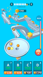 screenshot of Physics Puzzle Idle version 1.2