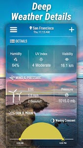 screenshot of Weather Forecast version 1.7.6