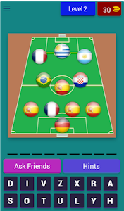screenshot of What's The Football Team? 2019 version 3.1.8z