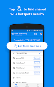 screenshot of WiFi Master - by wifi.com version 4.6.97