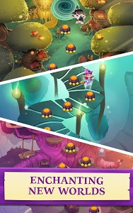 screenshot of Bubble Witch 3 Saga version 3.1.7