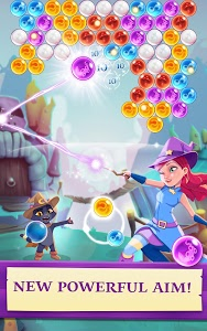 screenshot of Bubble Witch 3 Saga version 2.1.4