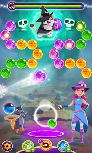 screenshot of Bubble Witch 3 Saga version 4.5.8