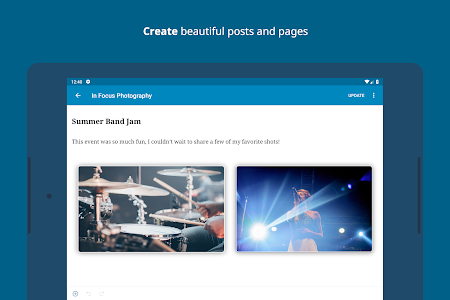 screenshot of WordPress – Website & Blog Builder version 10.9.3