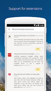 screenshot of Yandex Browser (alpha) version Varies with device