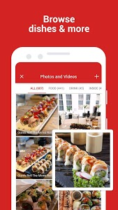 screenshot of Yelp: Food, Shopping, Services Nearby version Varies with device