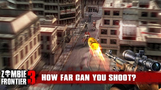 screenshot of Zombie Frontier 3 version 1.45