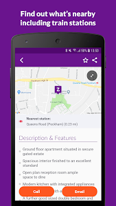 screenshot of Zoopla Property Search UK - Home to buy & rent version Varies with device