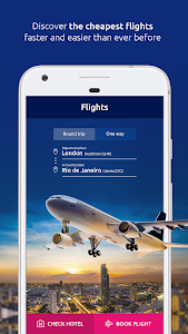 screenshot of eSky - Flights, Hotels, Rent a car, Flight deals version Varies with device