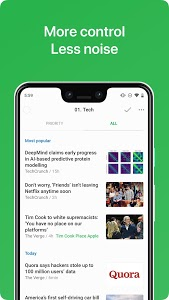 screenshot of Feedly - Smarter News Reader version 75.0.0