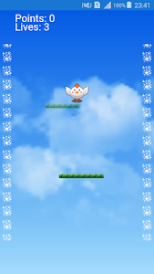 screenshot of flying chicken version 1.1