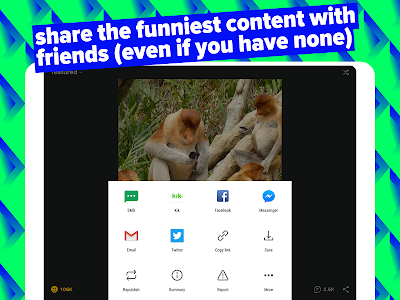 screenshot of iFunny :) version Varies with device