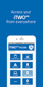 screenshot of iTWO MES Mobile version 2.1.16